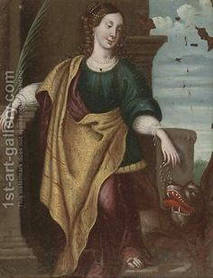 Flemish School:Saint Margaret of Antioch