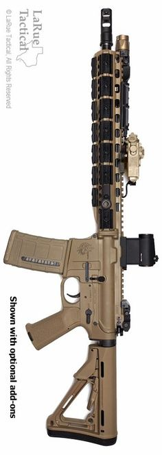 LaRue Tactical Custom Costa OBR 5.56, made in conjunction with Chris Costa....if you have the money to blow....