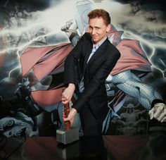 "Tom Hiddleston, our very own Loki from Marvel's ""Thor: The Dark World""!"