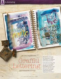 Hand Lettering Styles and Mark Making Art for Mixed-Media Free eBook...  I just had a whole new world opened up to me!    Ahhhhhh