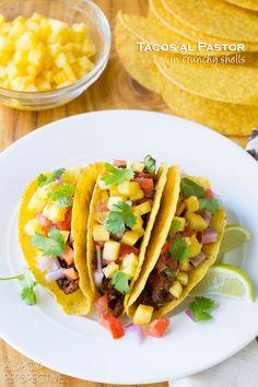 Easy Tacos al Pastor Recipe #tacos #mexican