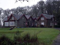 Rowardennan Youth Hostel on the banks of Loch Lomond.