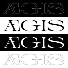 ÆGIS type Sketch #typedesign #wip #typography #graphicdesign #artnouveau #glyphs