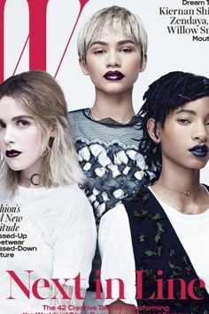 Fans Of Zendaya And Willow Smith Think W Magazine Whitewashed The Stars On Their Cover