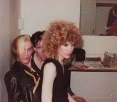 """Glasgow """"Apollo"""", May After first ever Cramps show in Europe. The Cramps, Chuck Berry, Psychobilly, Rock Music, Poison Ivy, Nice Things, Apollo, Glasgow, Bones"""