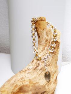 """Armband """"Golden Sunrise"""" von Chain-Elle Art's - wunderschöner Chainmaille Schmuck. Finde zu Deiner Geschichte Dein passendes Schmuckstück. Einzigartig."""