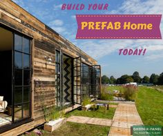 Build your #energyefficient prefabulous #home from greenrpanel.com and let your guest smitten with your new home. #prefabhome #modularhome #constructor #homebuilder