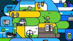 """ニューシティー (New City) is an experiment, conducted by Nord Collective's science division. Think of it as an identity constructor for modern Utopia city, where each person is treated as centre of his own universe. His interests and needs are forming the zone of perfect comfort around him. """"New city"""" is the place where any personal universe can happily coexist with lots of other personal universes, colliding only in social collaboration for perfect today and even better tomorrow. Full Projec..."""