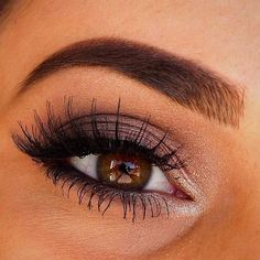 52 Best Gorgeous And Trendy Brown Eyes Makeup Design For Prom Or Party 💋 - Makeup Idea ฿Ɽ₩Ø₦ ɆɎɆ ₥₳₭Ɇ₱ Ʉ₱ 💋 💕 💕 💕 looks 💕 Prom Eye Makeup, Dark Eye Makeup, Makeup Looks For Brown Eyes, Dramatic Eye Makeup, Hooded Eye Makeup, Eye Makeup Art, Colorful Eye Makeup, Makeup For Green Eyes, Natural Eye Makeup