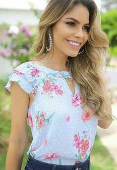 Cute floral blouse