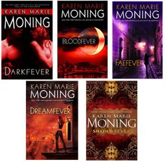 The Fever Series by Karen Marie Moning.     I loved these books!