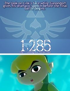 Hahaha! Toon Link has the best facial expressions!
