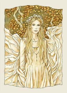 Lady of the Golden Wood by ~liga-marta on deviantArt.com