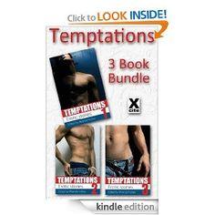 Temptations - 3 Book Bundle - from Xcite Books [Kindle Edition], (erotica, kindle freebie) Great Books, My Books, Free Kindle Books, Romance Novels, Short Stories, Erotica, Aprons, Authors, Bond