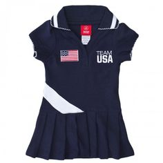 2012 Olympics Team USA Girl's Polo Dress $30.00