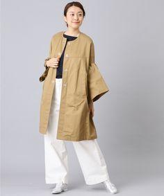 フリルスリーブコート/BONbazaar(ボンバザール) | パル公式通販サイト | PAL CLOSET Rain Jacket, Windbreaker, Raincoat, Gowns, Model, Jackets, Outfits, Crafts, Fashion