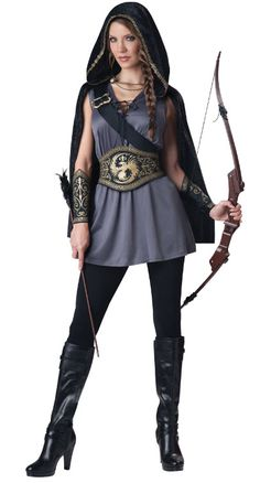 Huntress Costume - Family Friendly Costumes