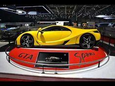 2014 Spano Spanish Super car live at Geneva Motor Show 2013 - horsepower specs price review