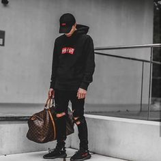 Supreme with yezzy
