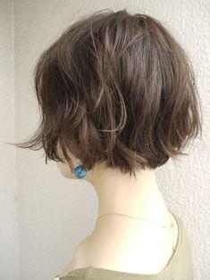 Messy Short Hair, Short Hair Cuts, Short Hair Styles, Popular Hairstyles, Short Bob Hairstyles, Hair Arrange, Hair Skin Nails, Haircut And Color, About Hair