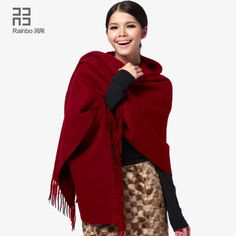 >> Click to Buy << 2017New Hot Blanket Thick Wool Scarf Shawl Spring Autumn Winter Female Dual-purpose Long Paragraph Color Pashminas For Women #Affiliate