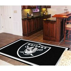 Oakland Raiders NFL Floor Rug
