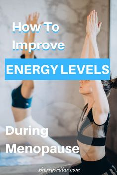 Low energy levels are a common symptom of menopause. Find out what you can do so you have the energy to do all the things. Menopause Supplements, Menopause Symptoms, Health Tips, Health Care, Women's Health, Night Sweats, Hormone Imbalance, Healthy Lifestyle Tips, Mood Swings