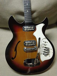 Awesome 1968 69 Harmony Rebel H82