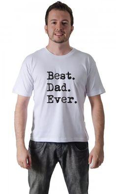 Camiseta Best Dad Ever por apenas R$37.91