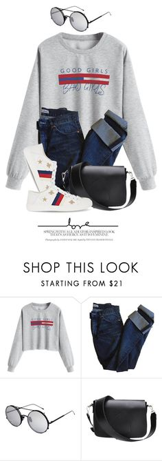 """""""Stop By"""" by monmondefou ❤ liked on Polyvore featuring Acne Studios, Sunday Somewhere and Gucci"""