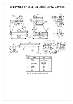 TAILSTOCK DRAWING PDF