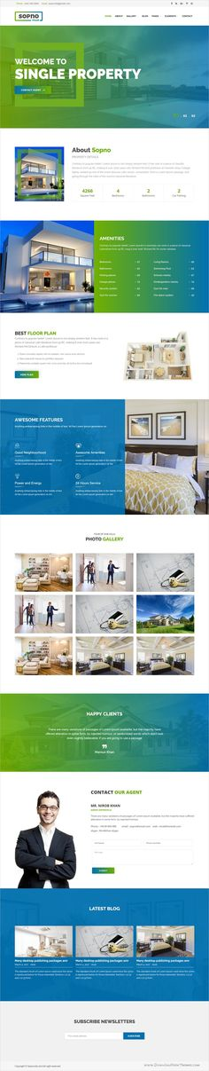 Sopnovilla is a modern and creative design responsive #WordPress theme for single #property #realestate or rental agencies website download now➩ https://themeforest.net/item/sopnovilla-single-property-wordpress-theme/19571552?ref=Datasata