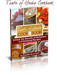 Free Taste of Herbs Cookbook: http://explore.learningherbs.com/taste-of-herbs/the-cookbook-and-compass/