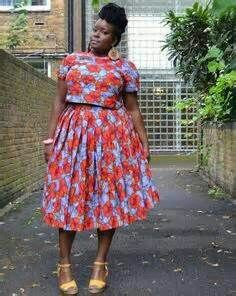 African Print plussize fashion