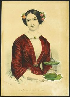 Catharine ~ Currier and Ives print