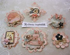 Le Romantique Handmade Scrapbook by mydivineinspiration on Etsy, $4.99