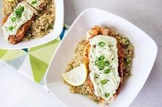 Blackened Chicken with Avo Cream Sauce- 14 High-Protein Dinner Recipes Under 500 Calories Low Sodium Recipes, Low Calorie Recipes, Healthy Recipes, Protein Recipes, Free Recipes, Easy Recipes, Plats Weight Watchers, Weight Watchers Meals, Dinners Under 500 Calories