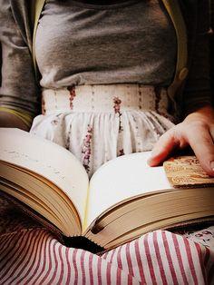 Girl Reading by lmaekelley, via Flickr