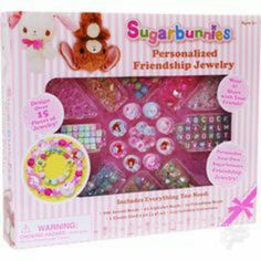 50f59d57647d3e Retired Sanrio Sugarbunnies 2010 Personalized Friendship Jewelry Set Kit by  Horizon Group USA - #18414