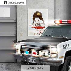 Poster S, Poster Wall, Poster Prints, Art Prints, Paul Bunyan, North Dakota, Fisher, Police Hat, Do It Yourself Furniture