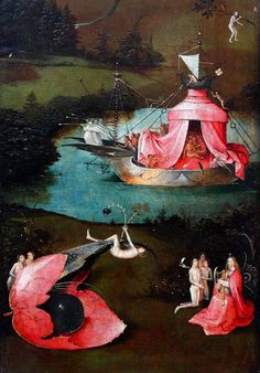 Hieronymus Bosch, The Last Judgment, left wing Hieronymus Bosch (Jeroen van Aken, ca 1450-1516), The Last Judgment, triptych (1486), oil on wood, left wing, detail. Groeninge Museum, Bruges