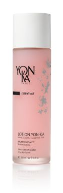LOTION YON-KA PS (TONER) Optimize your skin care regime with this versatile healing water that drenches your skin with the solar charged energy of five aromatic essential oils for purifying, toning, and invigorating effects. This alcohol and paraben free treating toner is also clinically proven to soothe sun burn and insect bites. Its energizing effects can be felt throughout the whole body. It is a must-have daily pick-me-up for those with dry or sensitive skin. #skincare #beauty