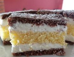 Hungarian Recipes, Winter Food, No Bake Desserts, Vanilla Cake, Tiramisu, Deserts, Fudge, Food And Drink, Sweets