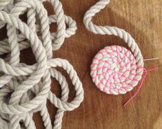 Spule Seil Schüssel Tutorial und von LostPropertyHongKong auf Etsy