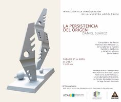 Obras de Daniel Suárez toman los espacios de la UCAB con una muestra antológica de 50 años de creación http://crestametalica.com/obras-de-daniel-suarez-toman-los-espacios-de-la-ucab-con-una-muestra-antologica-de-50-anos-de-creacion/ vía @crestametalica