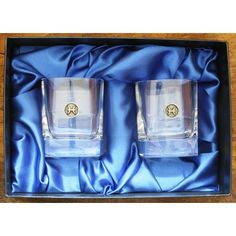 Pisces Whisky Tumblers Zodiac Sign Crystal Glasses Gift Boxed Pair... ($46) ❤ liked on Polyvore featuring home, kitchen & dining, drinkware, drink & barware, grey, home & living, tumblers & water glasses, astrology signs, crystal water glass and crystal drinkware