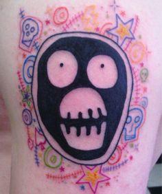 Brilliant boosh tattoo