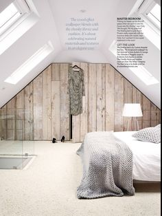 Looking for ideas for a loft conversion? Take a look at our great attic renovation ideas, from bedroom loft conversions to bathroom loft conversions Attic Master Bedroom, Attic Bedroom Designs, Attic Rooms, Bedroom Loft, Home Bedroom, Bedroom Ideas, Attic Bathroom, Attic Design, Bedroom Decor