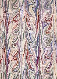 French Curl or Fountain pattern
