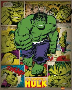 Marvel Comics - Incredible Hulk (Retro) Posters at AllPosters.com
